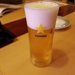 すし 笑 - ドリンク写真:ビール 410円