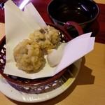すし 笑 - 生しいたけ天ぷら 151円