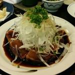 魚山亭 - かつおたたき