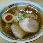煮干鰮らーめん 圓 - 【煮干しらーめん】¥780