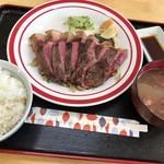 伊江牛 - 伊江牛糸満直売所(伊江牛ステーキ定食)