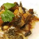 レ・エスプリ - 鰻と山芋のガーリック和風パスタ