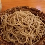 蕎麦 孤丘 - 玄挽き(2年熟成)1100円