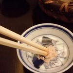 蕎麦 孤丘 - 岩塩