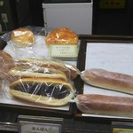 まるき製パン所 - あんこい入りも二個有りました。次回はこれだなぁ