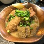 蘭引 - ホルモン味噌煮込み