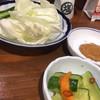 居酒屋 穂高 - 料理写真:2017年8月上旬 付け出し キャベツを味噌につけて食べます。