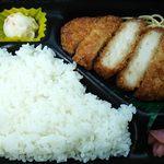 ポプラ - 料理写真:この日はとんかつ弁当530円