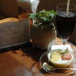 田沢湖ローズパークホテル - ケーキセット