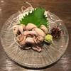 小川の魚 - 料理写真:うなぎの肝刺し