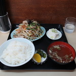 桃太郎 - 料理写真:肉野菜定食
