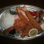 みのり食堂本店 - Aランチ+ひれかつ
