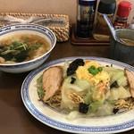 開花亭 - そばセット:950円