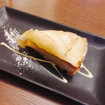 オムライス専門店 エグロン - 得々セットの一つ♪デザート♡桃のタルト