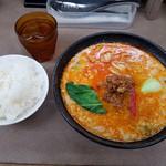 70983200 - 金沢坦々麺 7度 (大) & ライス (中)