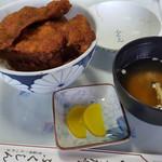 レストラン ふくしん - カツ丼、みそ汁付き