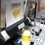 都ホテルニューアルカイック スーパービアガーデン - 生ビールのトルネードディスペンサー