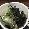桐の木 - 料理写真:冷奴