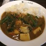 CoCo壱番屋 - ポークカレー(¥463円),野菜(226円),ほうれん草(226円)