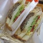 SANSAN - 料理写真:【ハンバーグ×たまご 400円】