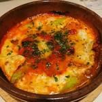 インコントロ - アスパラ チーズオーブン焼き