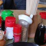 マルタニ製麺 - 卓上