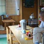 マルタニ製麺 - テーブル席