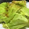 三浦産 春キャベツとアンチョビの炒め物