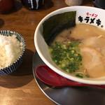 ラーメンキラメキ - 豚キラメキラーメン=590円 ごはん 小=140円