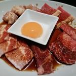 神楽坂焼肉 Kintan - お肉盛り
