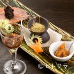 馳走 松宮 - 鴨味噌、香味塩、三升漬けなどの調味料も自家製で丹念に手づくり