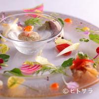 ルセット - 味はもちろん、美しさにも安心する、『前菜の盛り合わせ』