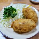 くさ笛 - 料理写真:「くさ笛コロッケ」(600円)