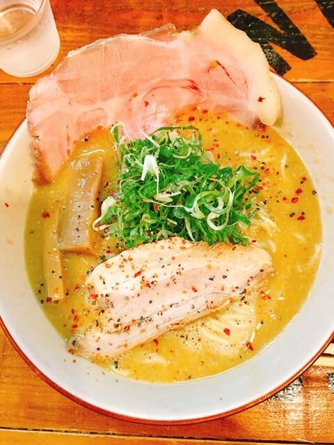 麺屋 Somie's - ベジポタ、麺1.5盛です。(2017.7 byジプシーくん)