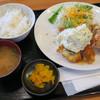 オリーブ・キッチン  - 料理写真:鱧フライ定食  タルタルかかってないのは唐揚げです