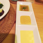 蒸亭 - サラダのドレッシング