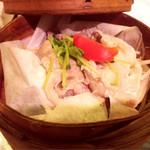 蒸亭 - 蒸篭蒸し(豚肉)