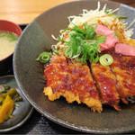 オリーブ・キッチン  - 和風カツ丼(サービスランチ)