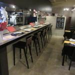 ヨシダ カッポウ - ガラッと店内の雰囲気が良くなりました♪