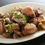 薩摩鶏 モモ焼