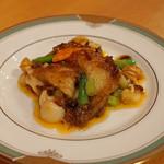 中国料理 琥珀 - アオリイカ(静岡)のXO醤炒め