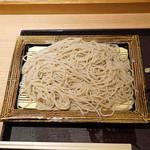 いわもとQ - 天丼セットの蕎麦