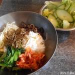 焼肉 永福苑 - ビビンバ&サラダ