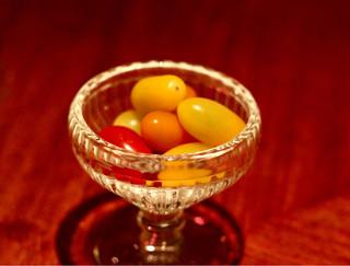 ヴァルコンセール - お通しのトマト