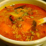 焼肉レストラン慶州 - ユッケジャンスープ