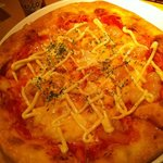 Xen (Roppongi J 内) - エビマヨのピザ