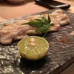 にかいのおねぎや 笹木 - 穴子白焼き