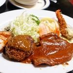 光陽軒 - 料理写真:2017年7月 スペシャルランチ【1620円】スープ、ご飯付です