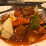 紅龍 - 酢豚980円