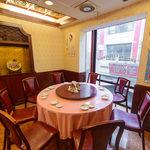 茘香尊 - 2階円卓テーブル席